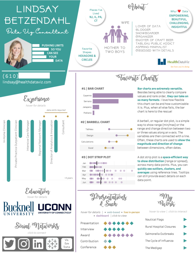 your tableau resume  biography doesn u2019t have to be boring  u2013 viz zen data